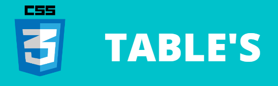 Tables in CSS