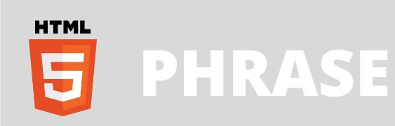 phrase in html