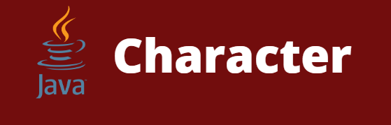 character in java