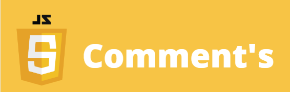 comments in javascript