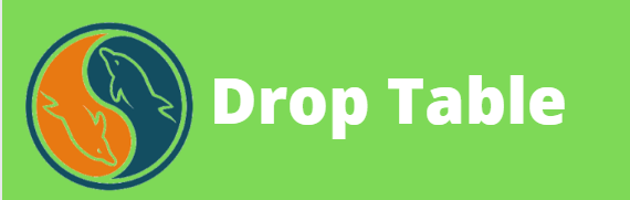 drop table in my sql