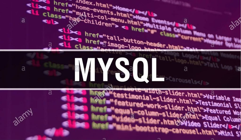 MySQL welcome image