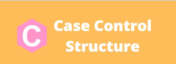 C - Case Control Structure