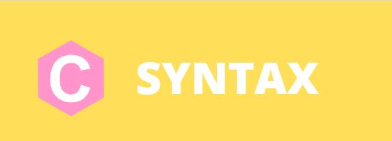 C - Syntax
